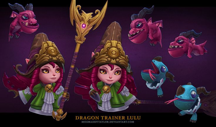 ArtStation - Dragon Trainer Lulu, Maddy Taylor Kenyon
