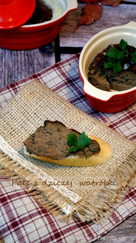 Kulinarne przygody Gatity: Pate z wątróbki z dzika