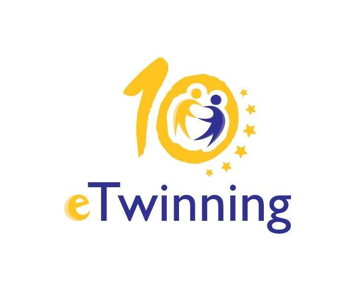 Celebrate 10 years of #eTwinning in your school with the anniversary logo