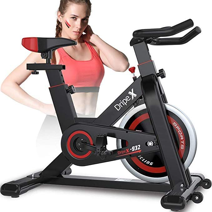 Amazon Com Dripex Upright Exercise Bikes Indoor Studio Cycles