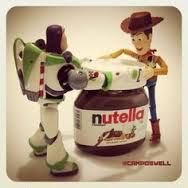 stealing nutella  so bad  that envy...