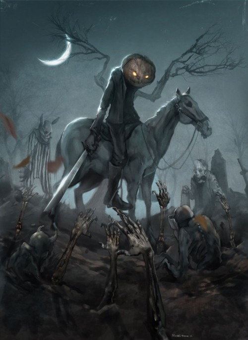 the Headless Horseman.