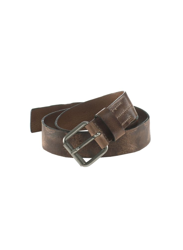 Brody Leather Belt, brown