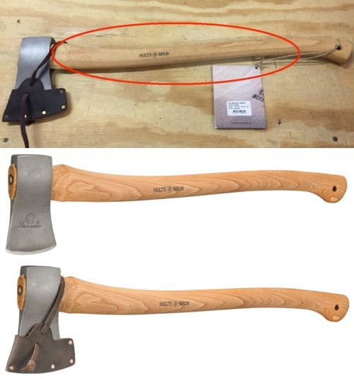 Camping Hatchets and Axes 75234: Hults Bruk 26 Torneo Felling Axe W Leather Sheath Made In Sweden Factory 2Nd -> BUY IT NOW ONLY: $69 on eBay!