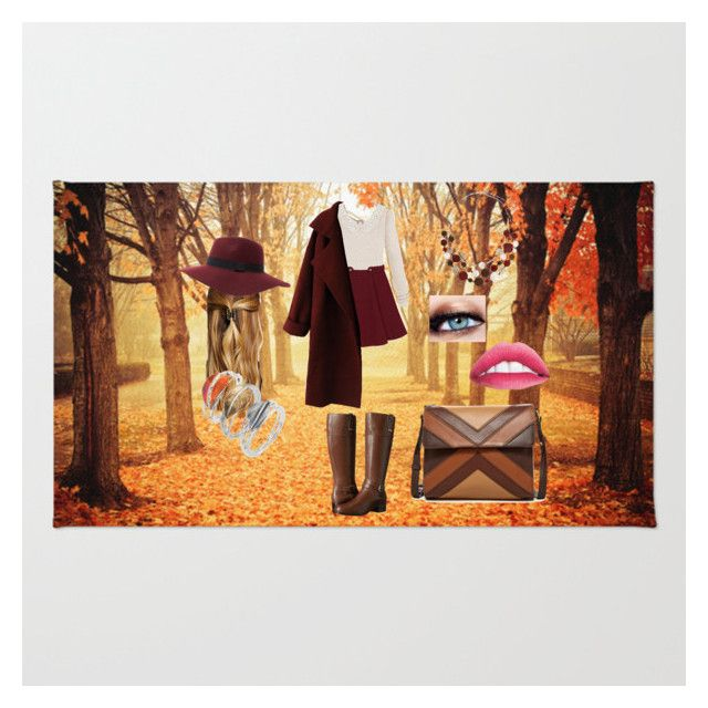 """Fall"" by mmarasyle on Polyvore featuring Bandolino, Erica Lyons, Isabella Fiore, Natasha Accessories, Maybelline and Caroline Royal"