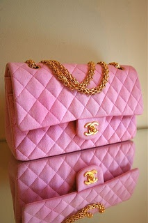 Chanel Pink mademoiselle in jersey or linen