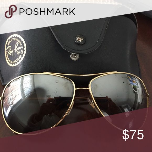 ray ban golden frame aviator  17 mejores ideas sobre Ray Ban Aviator Gold en Pinterest
