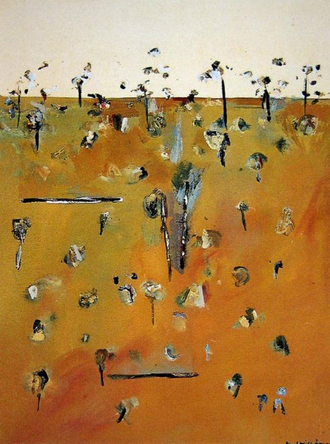 Fred Williams, Gum Trees, 1965.