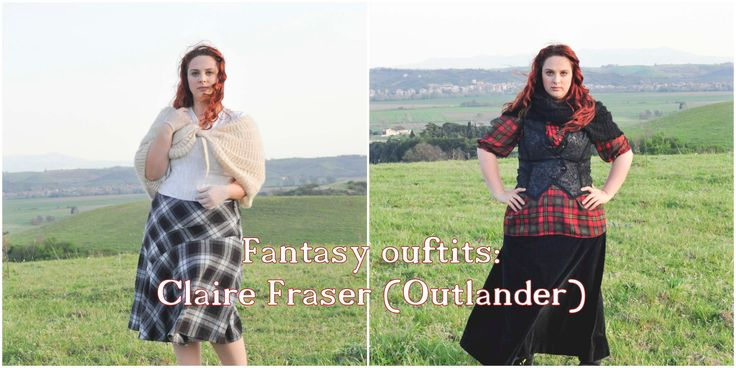 Fantasy Inspired Outfits-Claire Fraser (Outlander) Lookbook