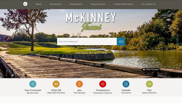 2017 City/County Large Population Group (150,000 residents and greater), Members' Choice Award Winner https://www.mckinneytexas.org
