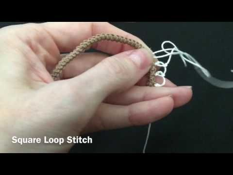 Square Loop Stitch - YouTube