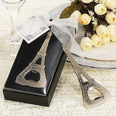 Paris-Eiffel Tower Desing Beer Opener WJ076/B use as Wedding Gift_Wedding Souvenir_Wedding Favor @Gail Regan Truax://www.BeterWedding.com