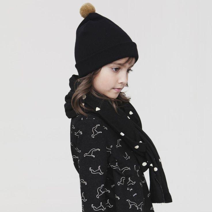Stylowa czapka LUKA, szal GIL i bluza HANK z kolekcji Pola&Frank AW 2013/14