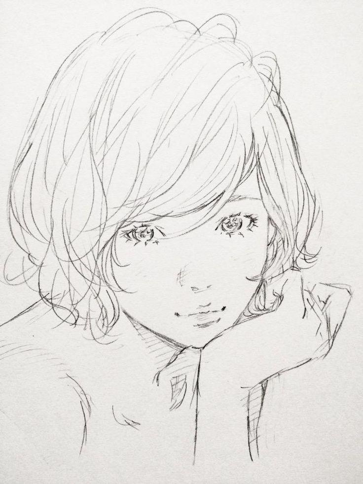 サラサラっとラクガキしてから次の仕事に by Eisakusaku