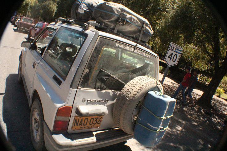 La mítica Ruta 40. Atraviesa Argentina desde la Quiana Hasta Cabo Vírgenes en la Provincia de Santa Cruz