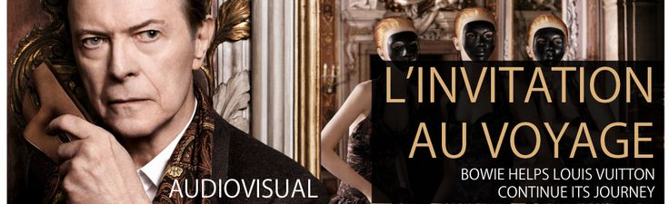 "Read more: https://www.luerzersarchive.com/en/features/audiovisual/the-exquisite-louis-vuitton-spot-488.html THE EXQUISITE LOUIS VUITTON SPOT A 66-year-old David Bowie serenades model Arizona Muse at a Venetian masked ball in Louis Vuitton's lavish commercial.     The over the top ad was directed by Romain Gavras, who has previously been behind the camera for the likes of Dior Homme and Jay-Z & Kanye West's ""No Church in the Wild"".   In the spot, Bowie plays a harpsichord version of ""I'd…"