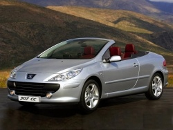 PEUGEOT 307 COUPET & CABRIOLET AUTOMATIC - CONVERTIBLE/CABRIOLET AUTOMATIC RENTAL CAR in CRETE