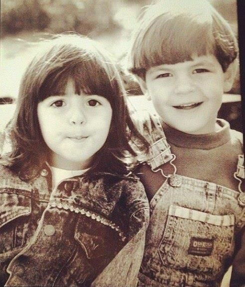 Alanna & her brother Jordan Masterson