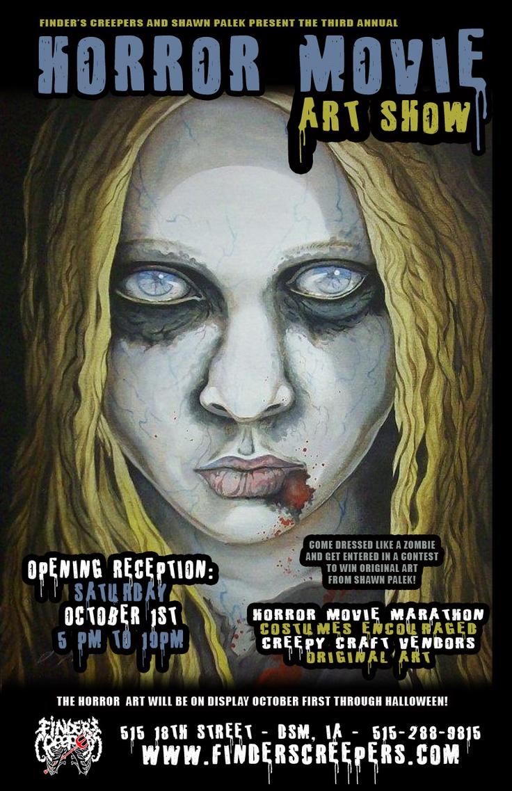 Horror Movie Art Show