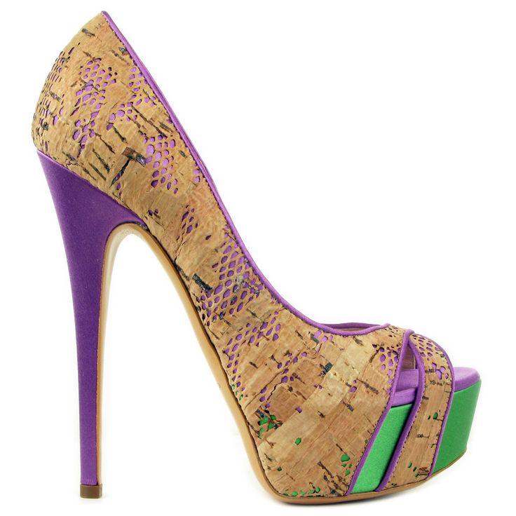 Mercedeh Shoes - Catalogue : Women > Shoes > Pumps : 3080 RASO BG