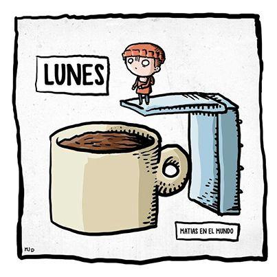 Buenos días amigos!!! #Lunes otra vez...Nada que un buen café bien cargadito no pueda arreglar  Ánimo!! #FelizLunes