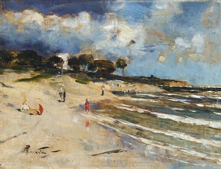Another Australian Beach scene...turn of the century