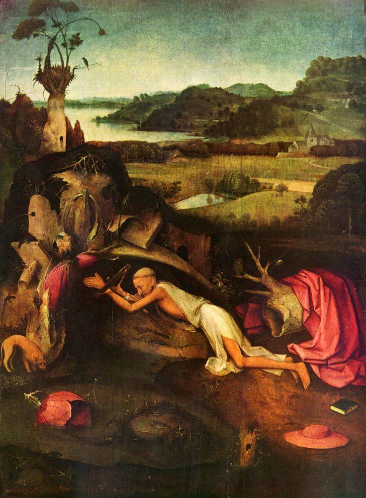 Св. Иероним за молитвой. ок. 1505. Музей изящных искусств. Гент