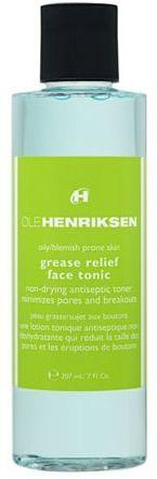 Ole Henriksen Grease Relief Face - One of the best tonic's to make sure the breakouts stay away! #OleHenriksen #NiceBeauty #WeCreateBeauty #EverybodyHatesBreakouts!
