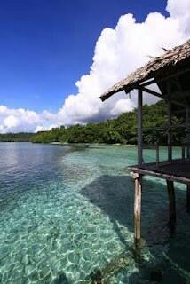 Waiwo beach, Raja Ampat (Papua - Indonesia)