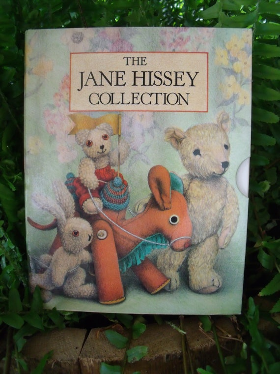 The Jane Hissey Collection  Old Bear Little by SheilasBlessings, $25.00