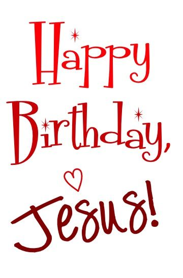 "The most wonderful time of year is here... Happy Birthday, Jesus! Luke 2:1 - 20 tells the story... Jesus is Born! ""And it came to pass in those days that a decree went out from Caesar Augustus that..."