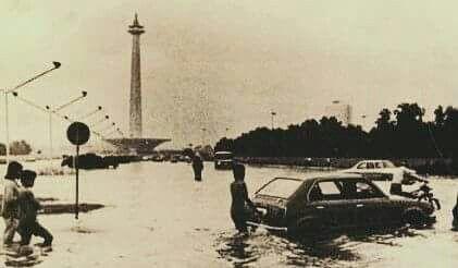 Monas  kebanjiran, 1979