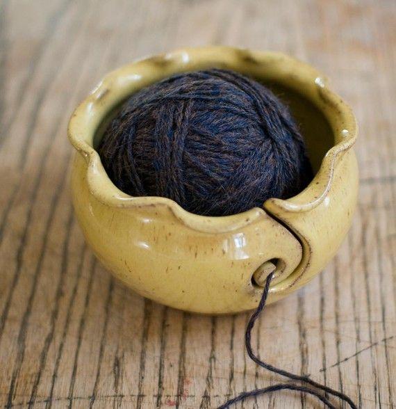 Yarn bowl: Crafts Ideas, Isnt, Art Etsy, Socks Glasses, Yarn Bowl I, Yarn Bowl Maybe, Yarn Bowl Need