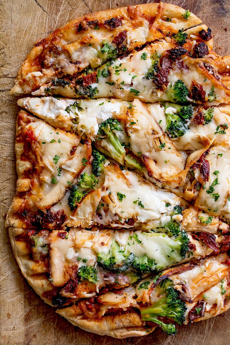 Grilled Chicken and Sundried Tomato Pizza _ Real Food by dad