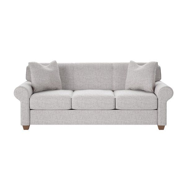 """Jennifer 81"""" Sofa Joss and Main - like the color and rolled arms"""