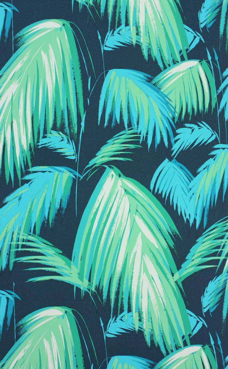 Osborne & Little - Matthew Williamson - Tropicana Wallpaper 10m Roll - Wallpaper & Decor