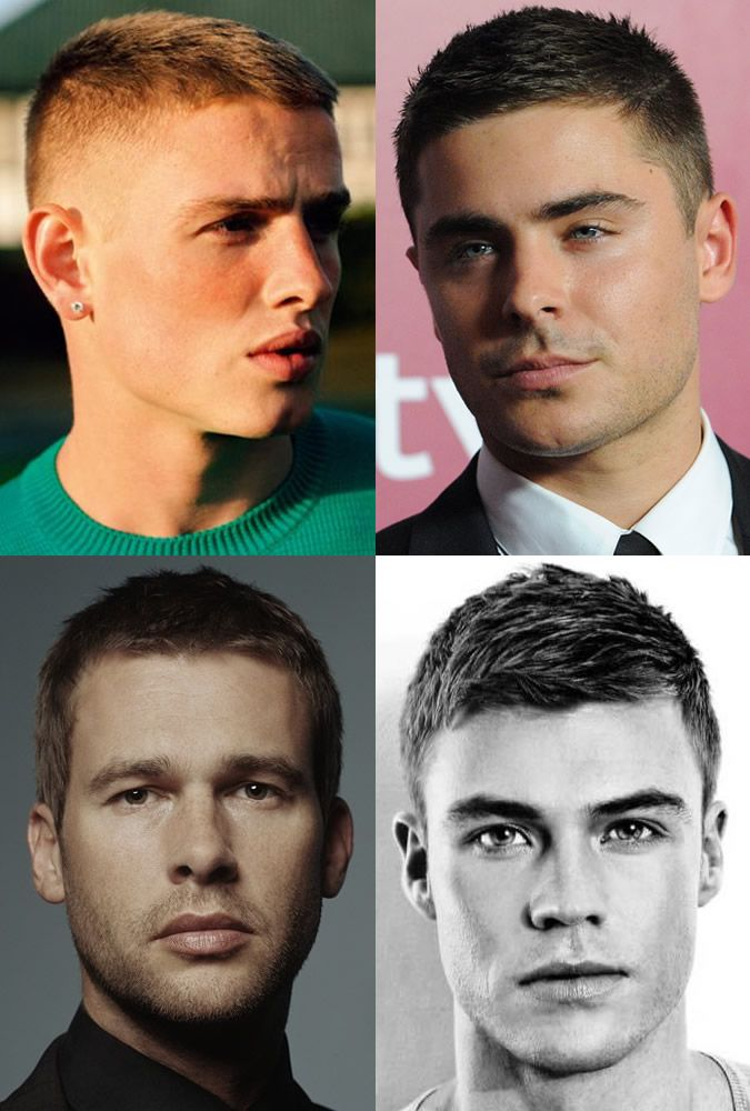 Men's Crew Cut Hairstyles