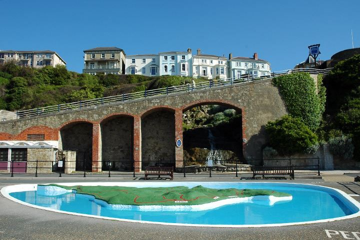 #FreeAttraction_42:   Treat your kids to a day out at Ventnor Paddling Pool.    Knight's Rest B&B, Shanklin, Isle of Wight www.thebandbdirectory.co.uk/12029