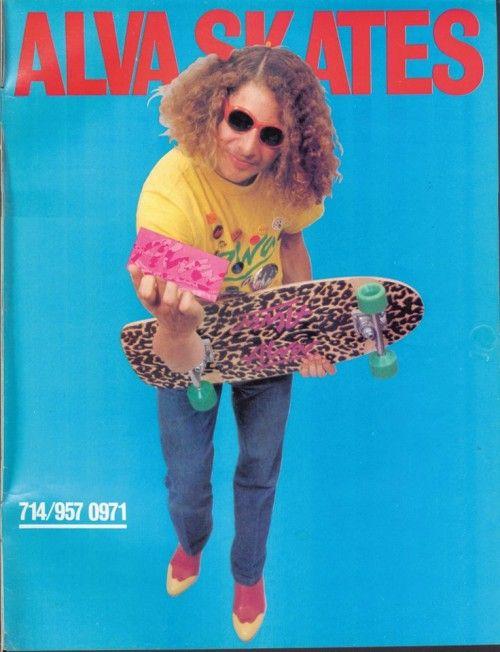 Vintage skateboarding / Tony Alva
