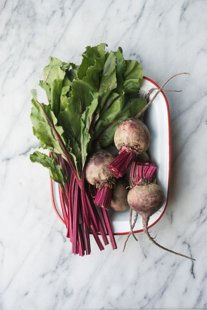 Roasted Beets with Horseradish Herb Yogurt and Toasted Hazelnuts | TENDING the TABLE