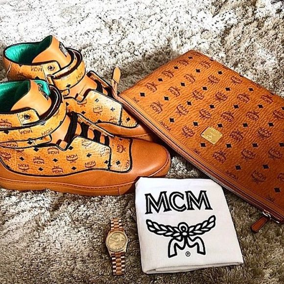 Mcm Clutch only MCM Bags Clutches & Wristlets