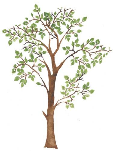 large tree template for wall - tree stencils images galleries with a