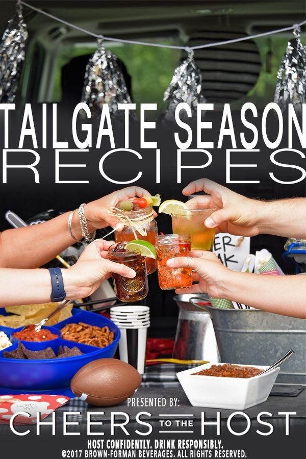 Cheers to tailgate season! Prepare for your game day by visiting CheerstotheHost.com for tailgate inspired food and drink recipes that are sure to be a hit for any crowd.