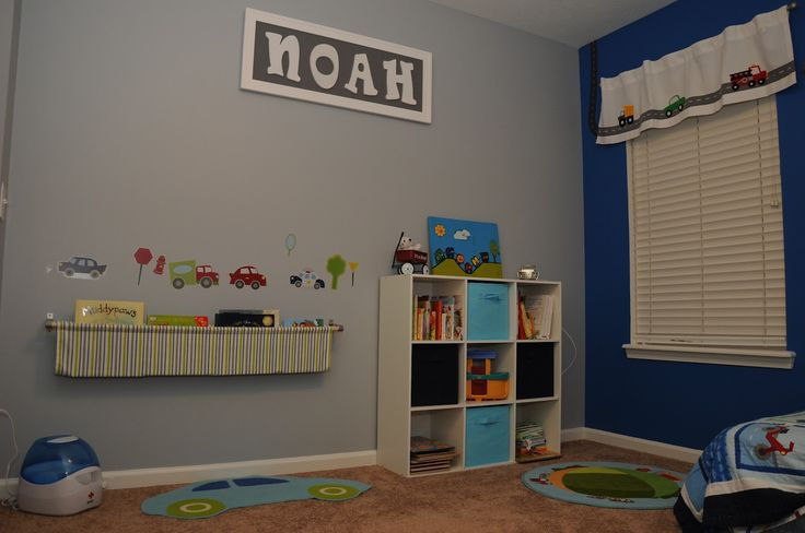 boys rooms pinterest | Crafty Mamas: Big Boy Car Bedroom (Plus a Book Sling Tutorial)