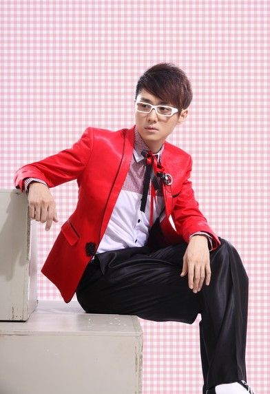 Buy Embellished Lapelled Single Button Groom Suit Red with cheapest price Clothing-Dropship.com