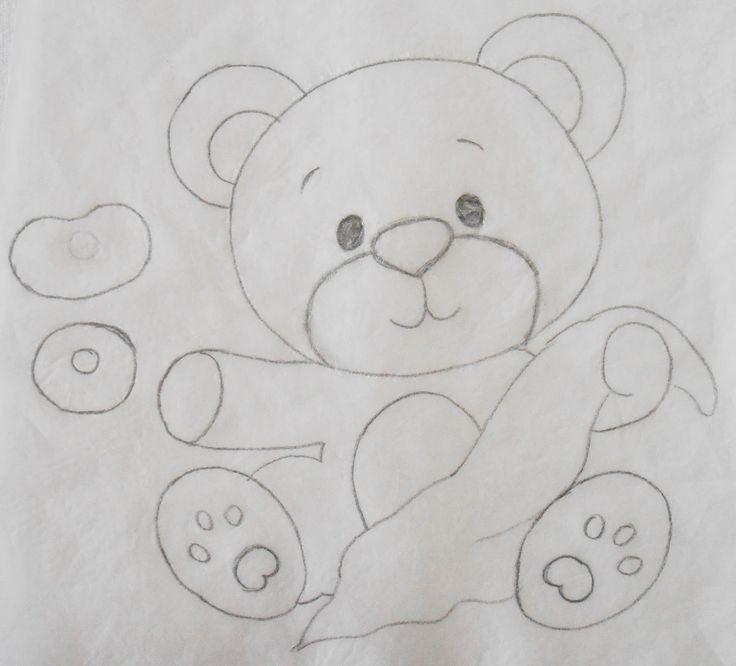Pin Do A Mariana Matias Em Desenhos Para Pintar: 64 Melhores Imagens De Riscos De Ursinhos No Pinterest
