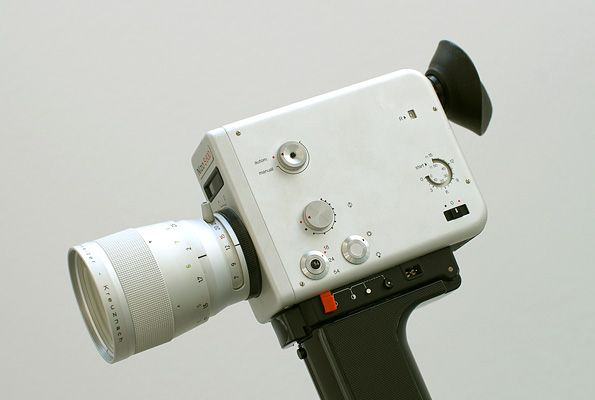 "whatdyoucallit:  "" Nizo S 800 Braun Super 8 Camera designed by Dieter Rams in 1970  """