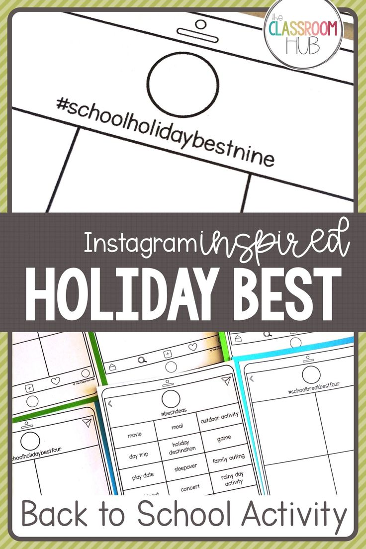 Check out this back to school activity for your 4th, 5th or 6th grade students to share their memorable holiday and vacation moments. You'll get a set of printables to use as activities with your upper elementary class that will give you a glimpse into their best memories from their school break. These can be used on the first day of school, as early finisher worksheets for the beginning of the year or as an about me lesson. A fun conversation starter too with fourth, fifth and sixth…