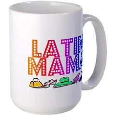Latin Mama Large Mug > MIA MOON DESIGNS ONLINE SHOP