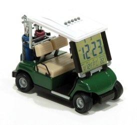 Slice of Time Golf Clock